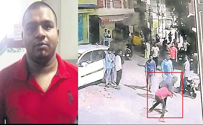 Police Attacking Case Reveals in Hyderabad - Sakshi