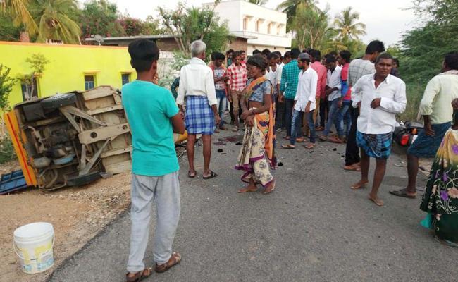 Boy Died in Bike Accident Anantapur - Sakshi
