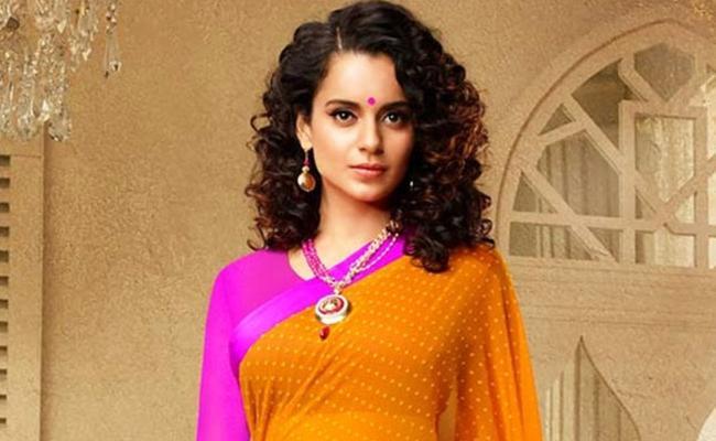 100 Crore Budget For Kangana Ranaut Thalaivi Movie - Sakshi