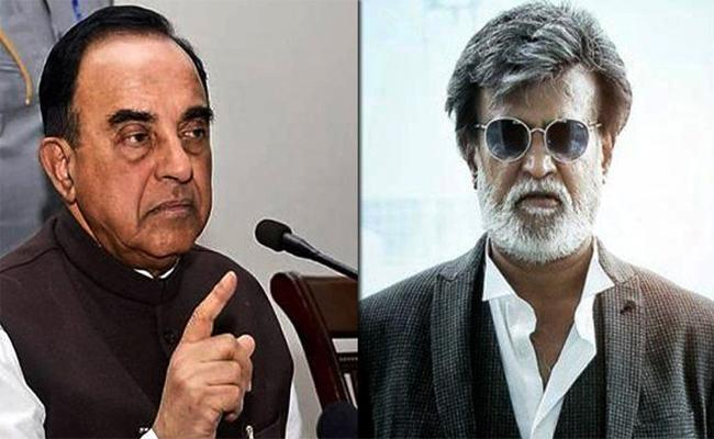 BJP Leader Subramanian Swamy Comments On Rajinikanth - Sakshi