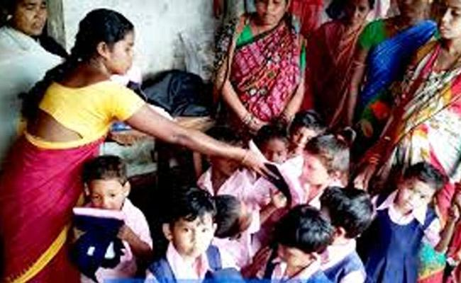 situation in Anganwadi centers has become worse - Sakshi