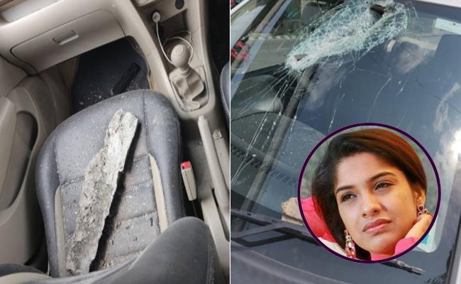 Actress Archana Kavi Narrowly Escaped From Accident - Sakshi