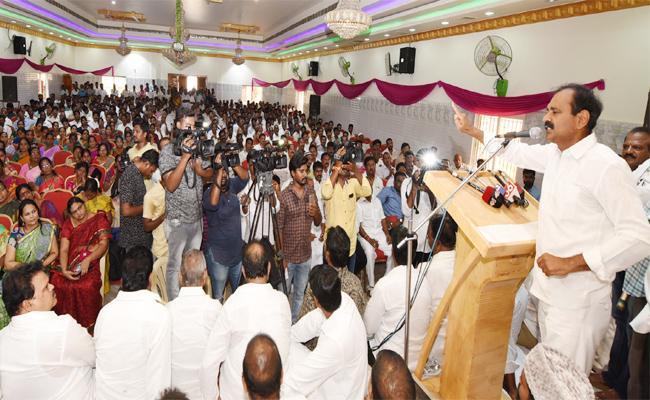 Bhumana Karunakar Reddy Meeting in Chittoor - Sakshi