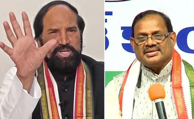 Kuntiya And Uttam Slams TRS - Sakshi