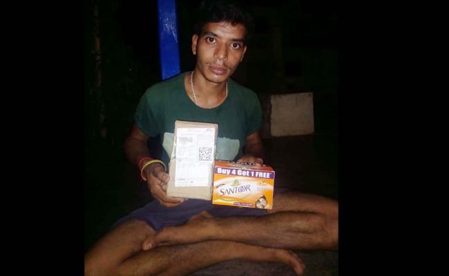 Santoor Soaps in Flipkart Parcel Online Cheating - Sakshi