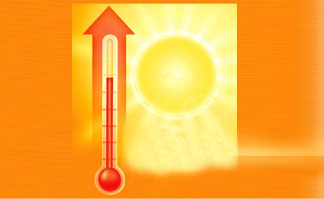 Temperature Rises in Hyderabad - Sakshi