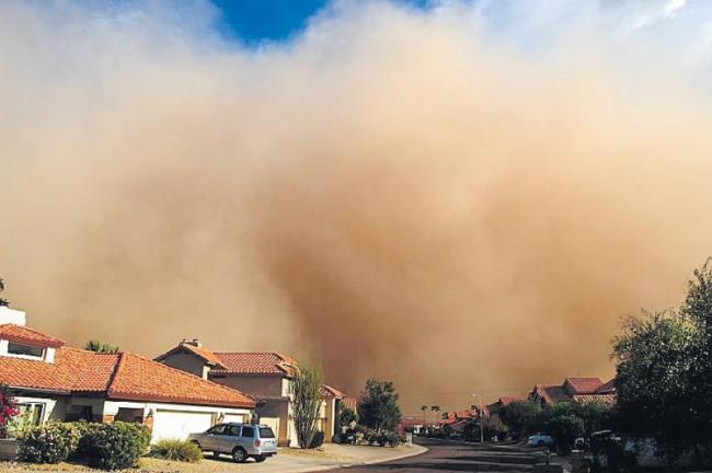 26 dead, over 50 injured due to dust storm - Sakshi