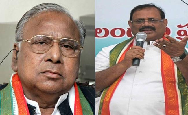 Congress Leaders Started Satyagraha Deeksha Over CLP Merger - Sakshi