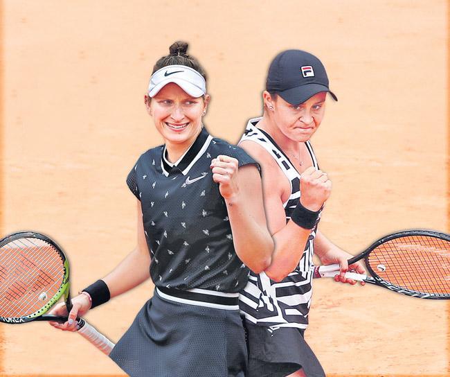 Teenager Marketa Vondrousova to face Ashleigh Barty in French Open final - Sakshi