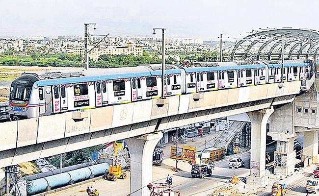 L&T Not Intrested on Old City Metro Route - Sakshi