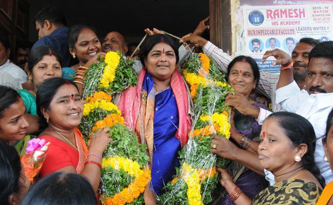 TRS Full Josh In MPP Elections - Sakshi