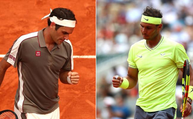 Rafa Nadal Will Play for 12th French Open Title After Beating Archrival Roger Federer - Sakshi
