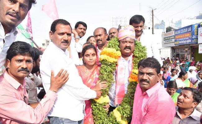 TSR MPP Elections In Karimnagar - Sakshi