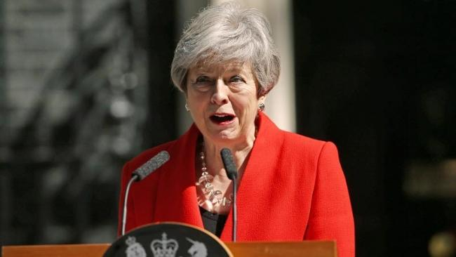 Theresa May resigns as Conservative leader - Sakshi