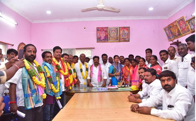 Telangana MPPs Elections Completed - Sakshi
