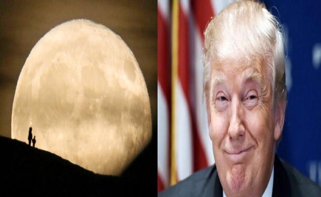 Donald Trump Criticizes NASA Plan About Going To Moon - Sakshi
