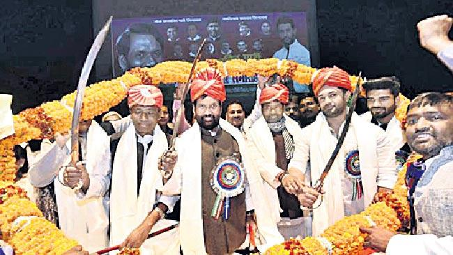 Four MPs from Ram Vilas Paswan family - Sakshi