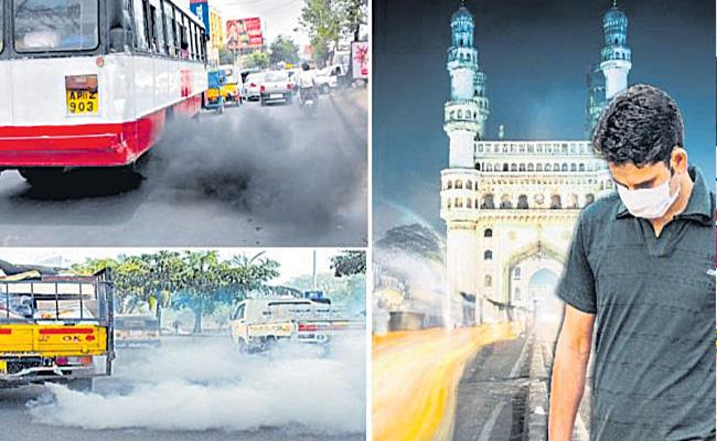 Guest Column By Narasimha Reddy Over Air Pollution - Sakshi