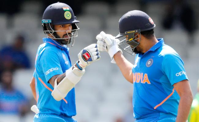 Grand opening stand powers India Against Australia - Sakshi