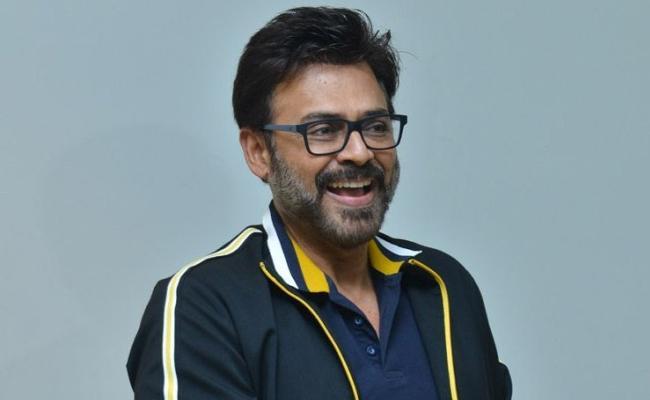 Venkatesh in Telugu Remake of Bollywood film De De Pyaar De - Sakshi