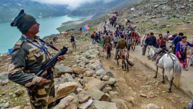 Amarnath Yatra Begins Amid Tight Security - Sakshi