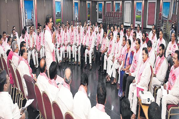 KTR Directions at Constituency Incharges Meeting - Sakshi
