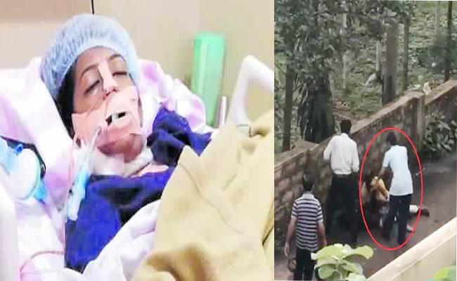 MBA Student Recovering in Hospital Karnataka - Sakshi