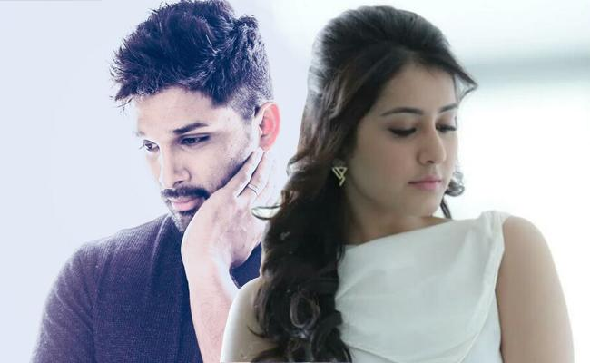 Rashi Khanna to romance Allu Arjun In Icon - Sakshi