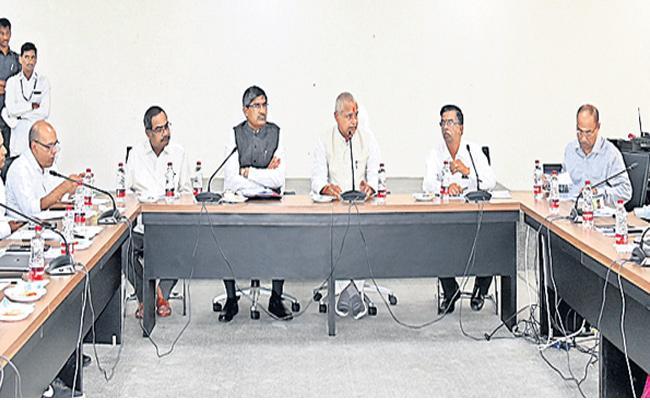 Speaker Tammineni Seetharam Meeting On Assembly Session - Sakshi