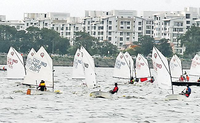 Preeti Leads in Sailing Championship - Sakshi