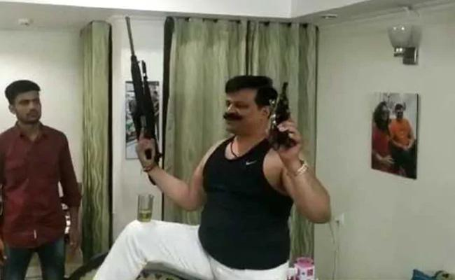 Suspended BJP MLA Pranav Singh Champion Clarification On Dancing Video - Sakshi