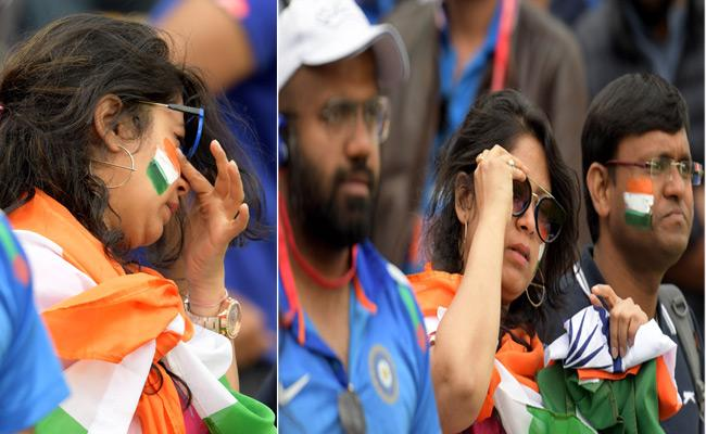 Team Indias World Cup 2019 Dream Over In Semis - Sakshi