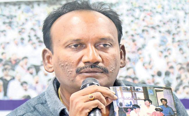 Karanam Balaram Give Wrong Affidavit To Election Commission - Sakshi