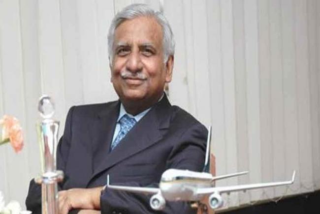 Delhi high court refuses to allow Jet Airways founder Naresh Goyal to go abroad - Sakshi