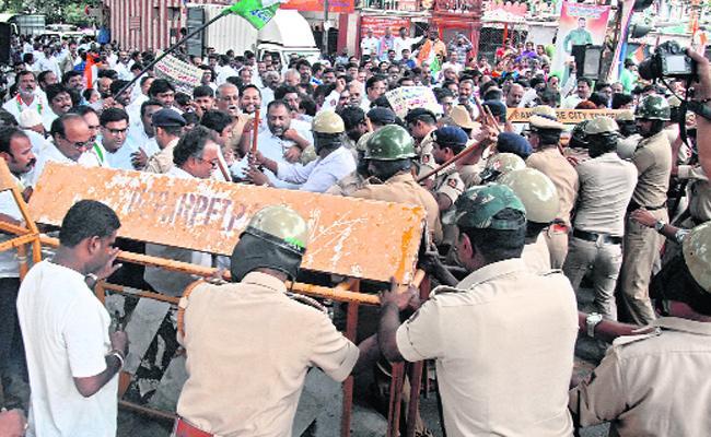 BJP Rally in Belagavi in Karnataka - Sakshi