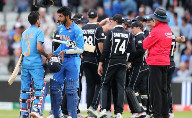 Jadeja All Round Brilliance in Vain as New Zealand enter final - Sakshi
