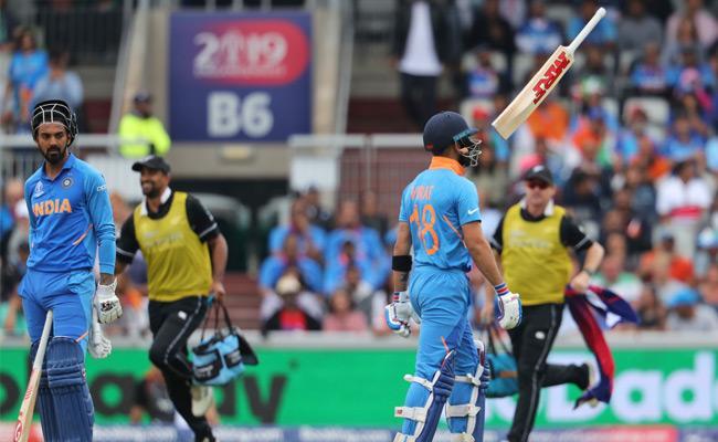 Top Order Collapse Leaves India reeling - Sakshi