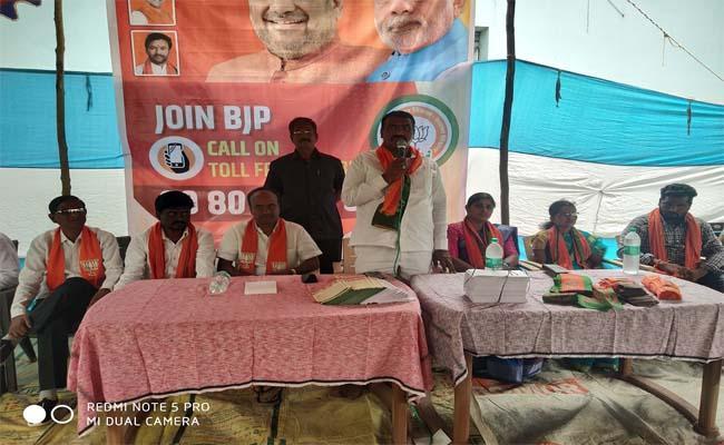 BJP ex MLA Yendala Laxmi Narayana Fires on KCR About Bodhan Sugar Factory - Sakshi