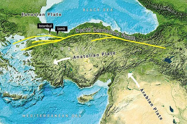 Seafloor Survey Confirms Earthquake Risk Near Istanbul - Sakshi