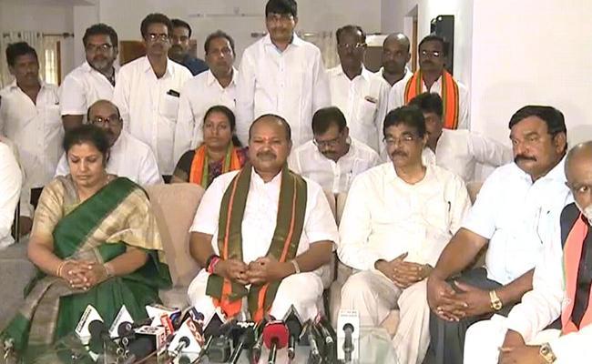 Kanna Lakshmi Narayana About Party Membership - Sakshi