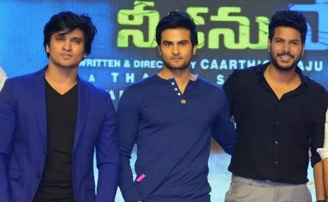 Young Heros At Ninu Veedani Needanu Nene Pre Release - Sakshi