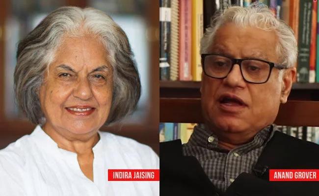 CBI Raids Lawyers Indira Jaising, Anand Grover In Foreign Funding Case - Sakshi