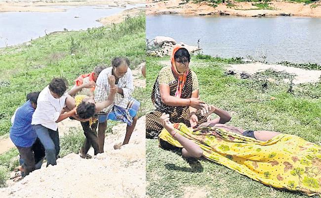 Boy Died in lake While Taking Tik Tok Video Recording - Sakshi