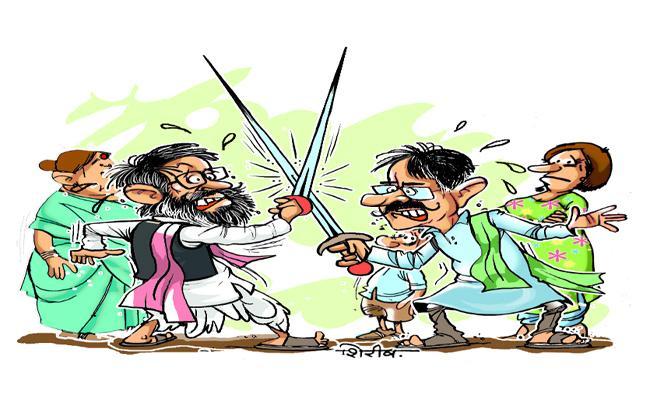 Political Fight For Muncipal Elections In Mahabubnagar - Sakshi