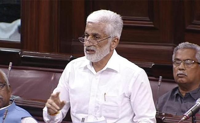 YSRCP MPs Participate Debate Over Budget In Rajya Sabha - Sakshi