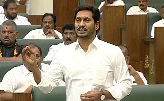 CM YS Jagan Lashes Out at chandrababu over Irrigation Projects - Sakshi