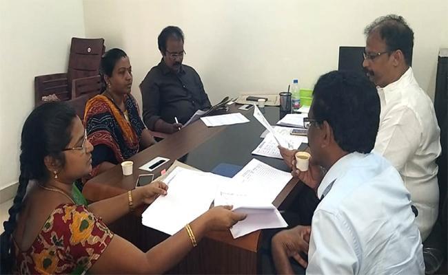 Grama Volunteers Interviews Began Thursday - Sakshi