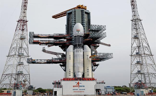 Chandrayaan 2 Launch Into ISRO Crown - Sakshi