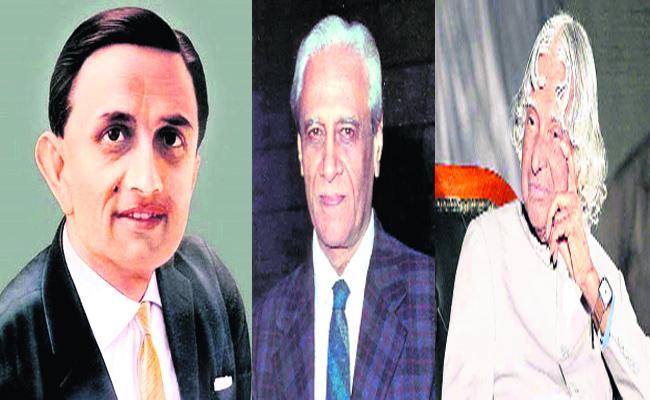 The Role Of Vikram Sarabhai, Satish Dhawan And APJ Abdul Kalam Is Key To ISRO Achievements - Sakshi