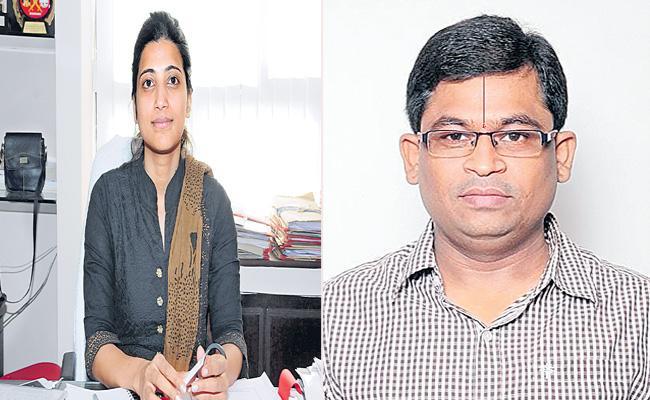 IAS Amrapali Transfer To Kishan Reddy OSD - Sakshi